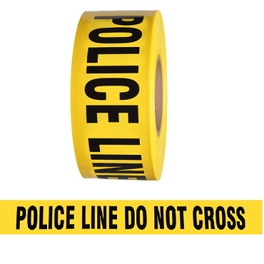 Barricade Tape - Police Line Do Not Cross - Yellow 3
