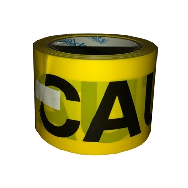Pro Safe Barricade Tape Caution Yellow 3