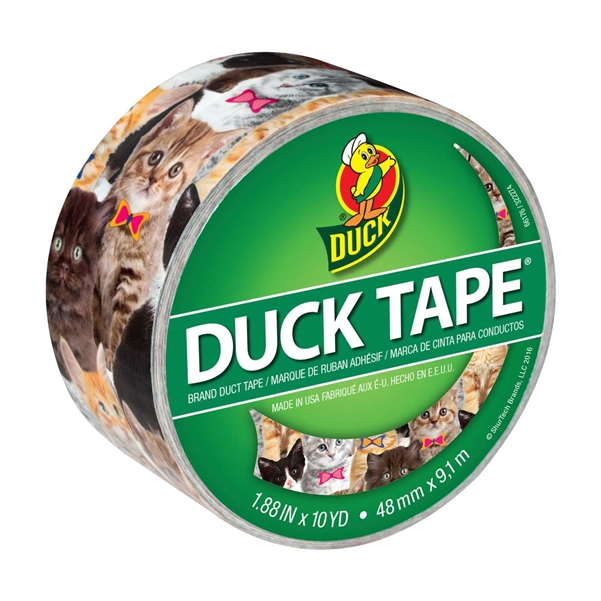 Kitty Kitty Duck brand Duct Tape 1.88