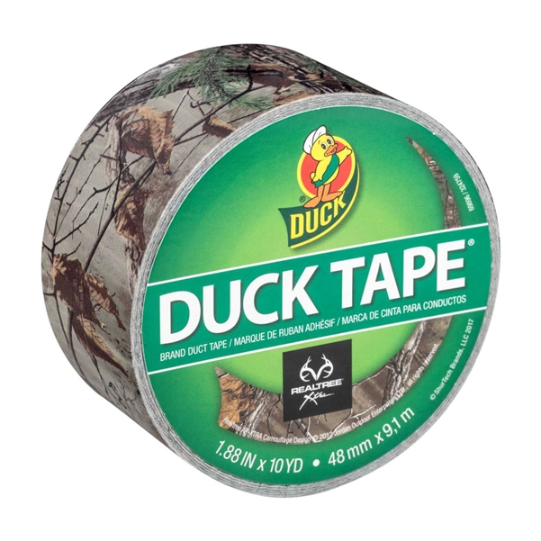 Realtree xtra Camouflage Duck Brand Duct Tape 1.88