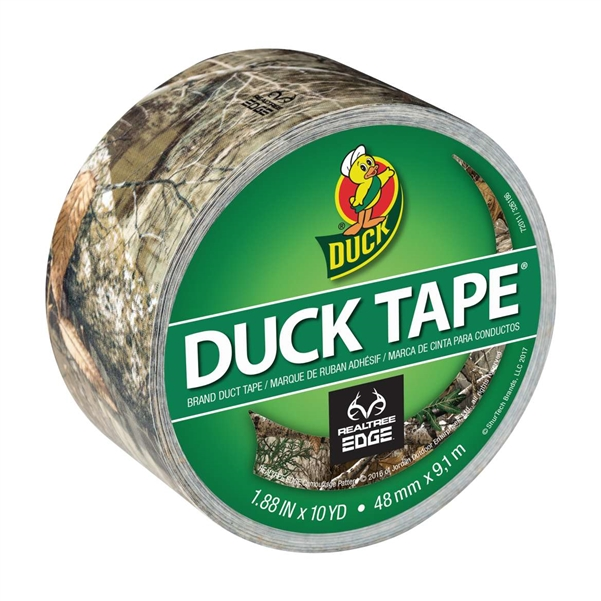 Duck Brand Realtree Edge Camouflage Duct Tape 1.88
