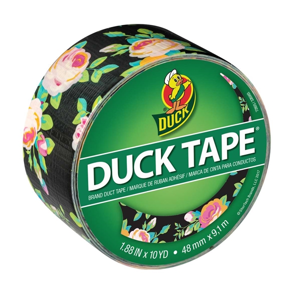 Neon Floral Duck Tape Brand Duct Tape 1.88
