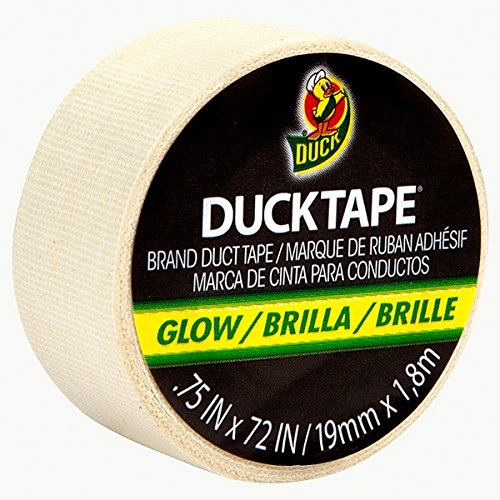 Glow in The Dark Cloth Duck Brand Duct Tape 1.88