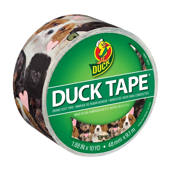 Puppy Potpourri Duck brand Duct Tape 1.88