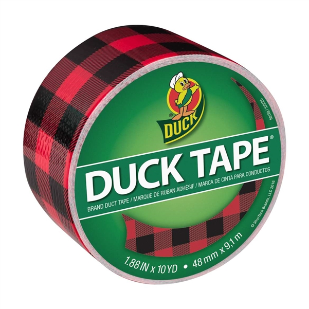 Buffalo Plaid Duck brand Duct Tape 1.88
