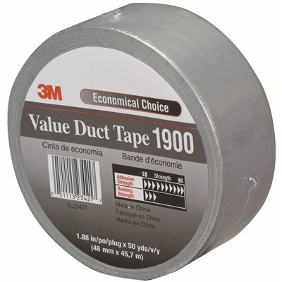 Silver 3M 1900 Duct Tape 2